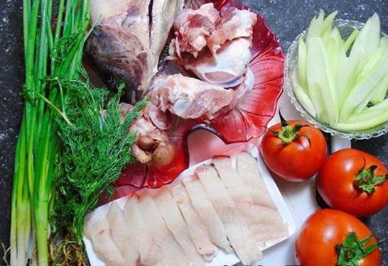 Một số nguyên liệu nấu bún cá cần chuẩn bị