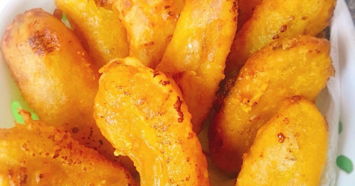 Cách làm bánh chuối chiên giòn thơm ngon – hấp dẫn