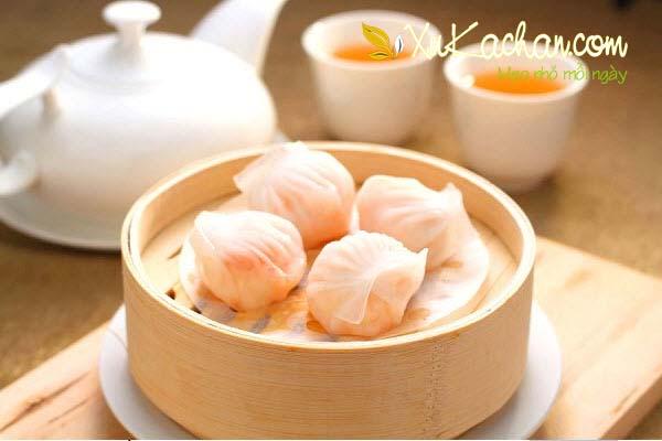 Há Cảo là món ăn nổi tiếng đến từ Triều Châu - Trung Quốc