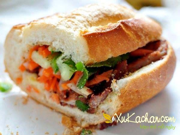 Hoàn thành và thưởng thức bánh mì ngon giòn hấp dẫn