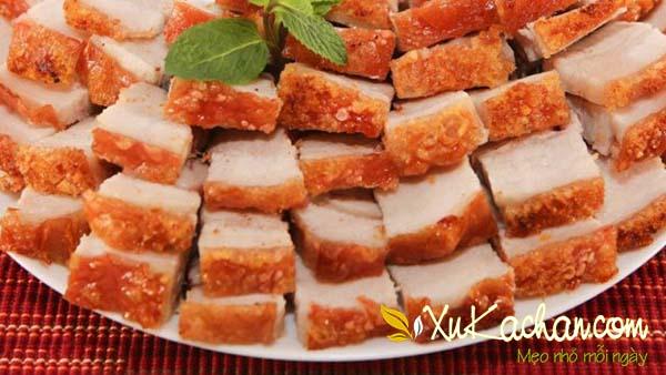 Thịt heo quay giòn bì thơm ngon hấp dẫn - cách làm thịt heo quay