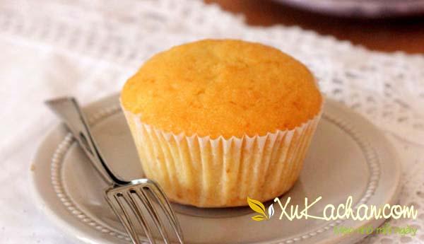 Bánh Cupcake sau khi hấp xong