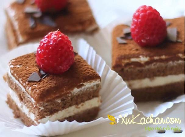 Bánh Tiramisu ngon tuyệt hảo