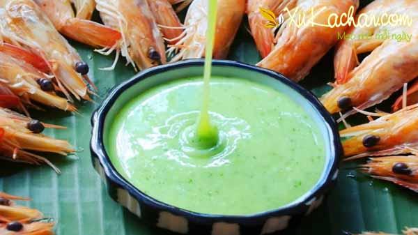 Muối ớt xanh chấm hải sản ngon tuyệt hảo