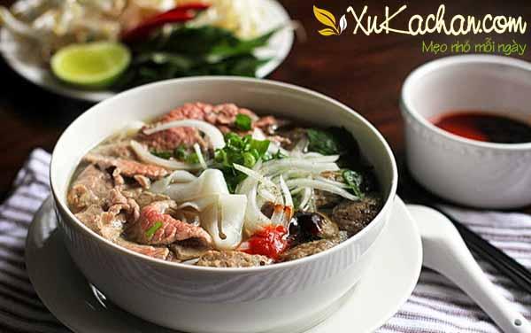 Cách nấu phở bò ngon chuẩn vị truyền thống của người Hà Nội - cách nấu phở bò Hà Nội