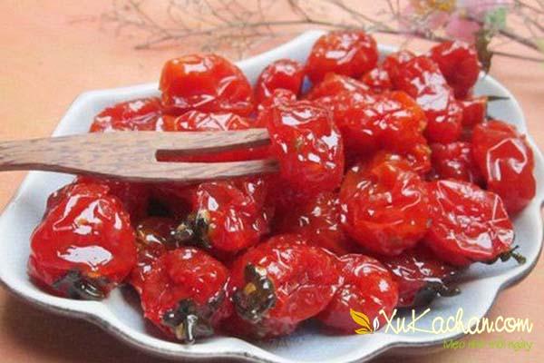 Cách làm mứt cà chua bi ngon - chuẩn công thức