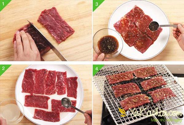 Cách ướp thịt bò nướng và cách nướng thịt bò ngon nhất