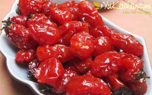 Cách làm mứt cà chua bi ngon - chuẩn công thức - cach lam mut ca chua