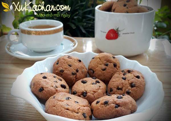 Bánh quy socola tự làm ngay tại nhà