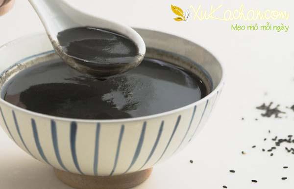 Một số lưu ý để có được món chè mè đen thơm ngon sánh mịn