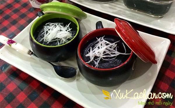 Chè mè đen thơm ngon bổ dưỡng dành cho bà bầu - cách nấu chè mè đen đường phèn