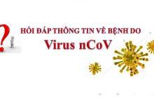 Cẩm nang Hỏi - Đáp thông tin về bệnh viêm đường hô hấp cấp do chủng mới virut CORONA (nCoV)