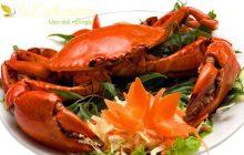Cách luộc cua biển thơm ngon, chắc thịt ngay tại nhà