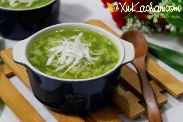 Cách nấu chè cốm thơm ngon hấp dẫn - cach nau che com