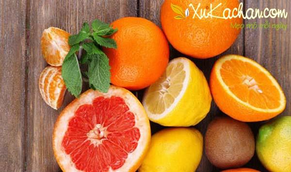 Mẹo chọn cam, quýt ngon và mọng