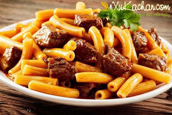 Cách làm nui xào bò ngon và dễ chế biến nhất - cách làm nui xào bò ngon