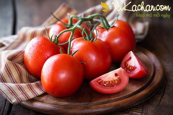 Cà chua cũng có rất nhiều các tác dụng tốt đối với sức khỏe