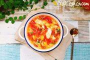 Cách nấu canh trứng với cà chua và đậu phụ ngon tuyệt hảo