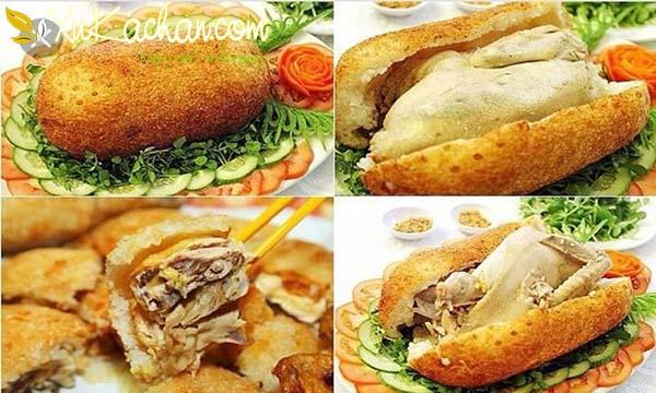 Cách làm gà bó xôi ngon giòn, hấp dẫn ngay tại nhà - cach lam ga bo xoi chien gion