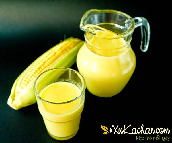Cách làm sữa ngô thơm ngon sánh mịn ngay tại nhà - cách làm sữa bắp
