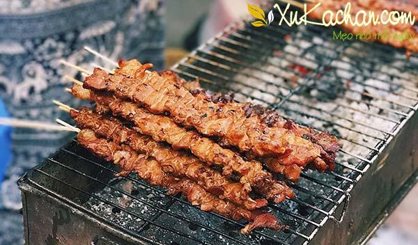 Cách làm thịt xiên nướng ngon chuẩn vị nhất - cách làm thịt xiên nướng ngon