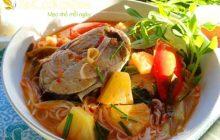Cách nấu bún cá ngừ thơm ngon chuẩn vị Miền Trung