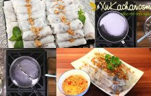 Cách làm bánh cuốn bằng chảo chống dính dễ nhất