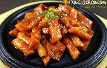 Cách làm bánh gạo cay Hàn Quốc ngon đúng chuẩn