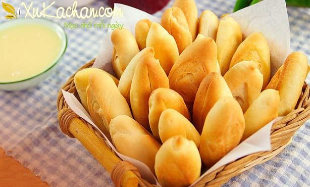 Cách làm bánh mì mini chuột nóng giòn, thơm phức - cach lam banh mi mini chuot