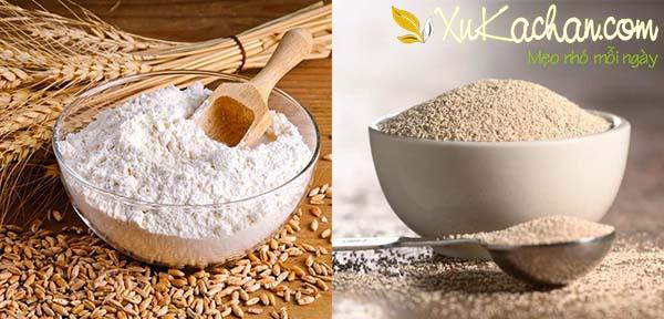 Một số nguyên liệu làm bánh mì mini chuột cần chuẩn bị - cach lam banh mi mini