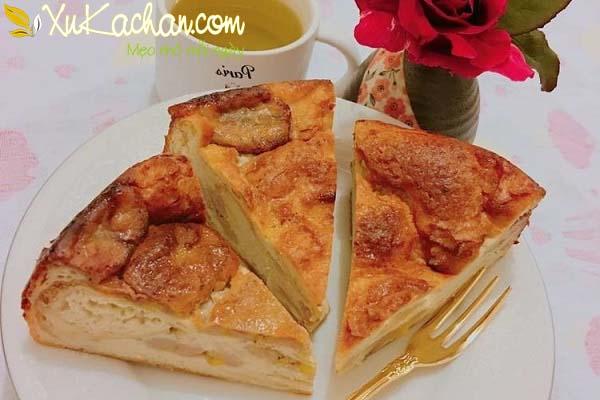 Bánh chuối nướng thơm ngon hấp dẫn - cach lam banh chuoi nuong