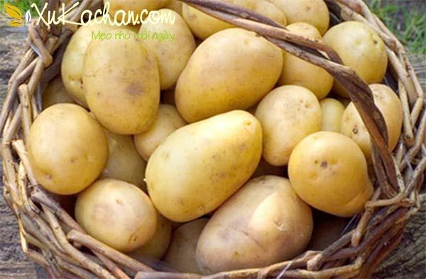 Mẹo chọn khoai tây ngon - cách làm khoai tây chiên tại nhà
