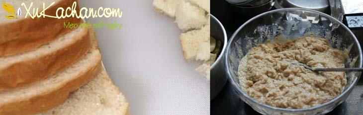 Hỗn hợp bánh mì sandwich - cách làm bánh chuối nướng bánh mì sandwich