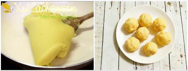 Làm nhân bánh mochi đậu xanh - cách làm bánh mochi nhân đậu xanh
