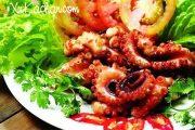 Cách làm bạch tuộc nướng sa tế thơm ngon tại nhà