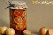 Cách ngâm chanh đào mật ong đường phèn trị ho hiệu quả